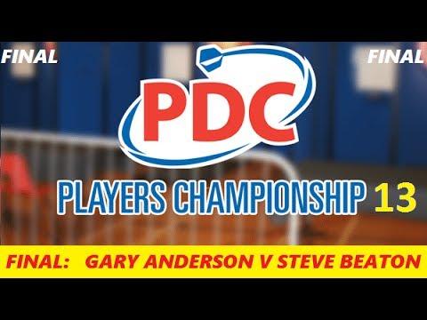 Players Championship 13 - Final & Interview HD 1080p - Gary Anderson vs Steve Beaton