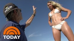 Caroline Wozniacki's SI Swimsuit Issue Shoot: Behind The Scenes | TODAY