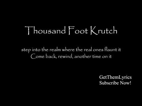 Thousand Foot Krutch  Welcome to the Masquerade Lyrics  GetThemLyrics