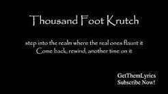 Thousand Foot Krutch - Welcome to the Masquerade (Lyrics) - GetThemLyrics
