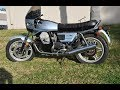 Moto Guzzi 1000 strada  exhaust sound compilation