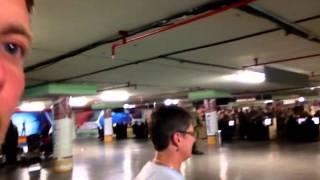 Inside Nairobi Airport - Kenya/Uganda Trip