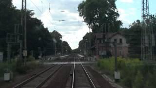 Führerstandsfahrt: Frankfurt/Oder - Fürstenwalde - Erkner - Berlin Rummelsburg (8/2012)