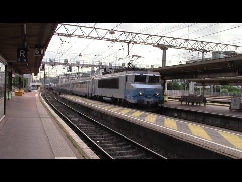 Trains at Lyon Part Dieu 16/6/16 & 17/6/16