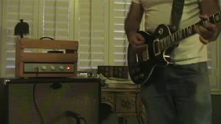 The Ghettolux Amp Demo with a Les Paul (Fender 6G3 Deluxe based)