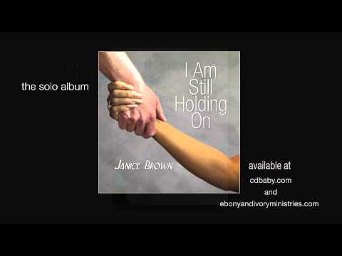 "Janice Brown ""I Am Still Holding On"" CD promo"
