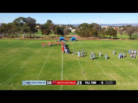 Australian Gridiron League | LIVE | SA vs NSW