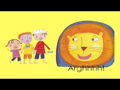 Going on a Lion Hunt | Kids Song & Story Read Along | Children Love to Sing