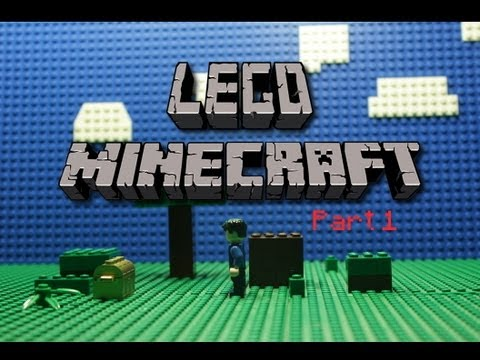 Lego Minecraft Stop Motion: Part 1 - YouTube