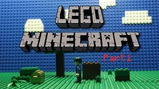 Lego Minecraft Stop Motion: Part 1