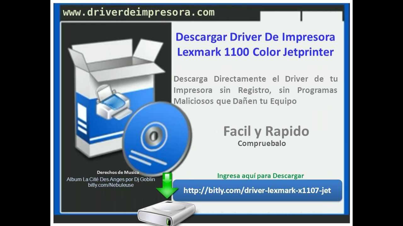 lexmark x1100 driver