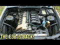 FINALLY BACK TO WORK ON THE E36! : BMW E36 325i Drift Build Ep.16