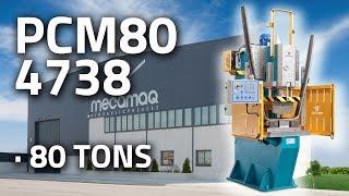 "Hydraulic press MECAMAQ ""C-FRAME series"" 80Tm // PCM80 4738"