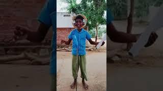 Village children tik tok shoot