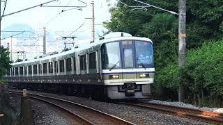 221系NC604編成 奈良線 快速列車