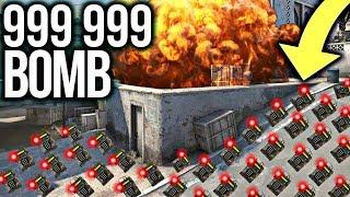 CO SIĘ STANIE PO ZAPLANTOWANIU 999 999 BOMB W CS:GO ? SZALONY EKSPERYMENT