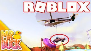 Roblox Jailbreak - LIFTING CARS MIT NEUEN MILITARY HELICOPTER!!!