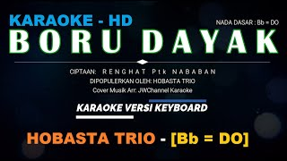 Karaoke Boru Dayak Hobasta Trio Lagu Batak Berjalan Bb Do