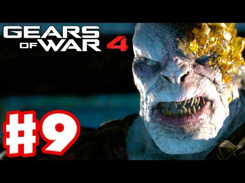 Gears of War 4 - Campaign Gameplay Walkthrough Part 9 - Storm Warning! (PC, Xbox One)