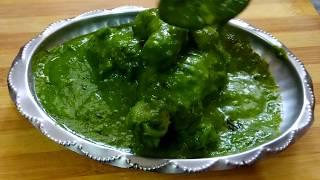 Palak Chicken  Best gravy dish ever  Healthy recipe.