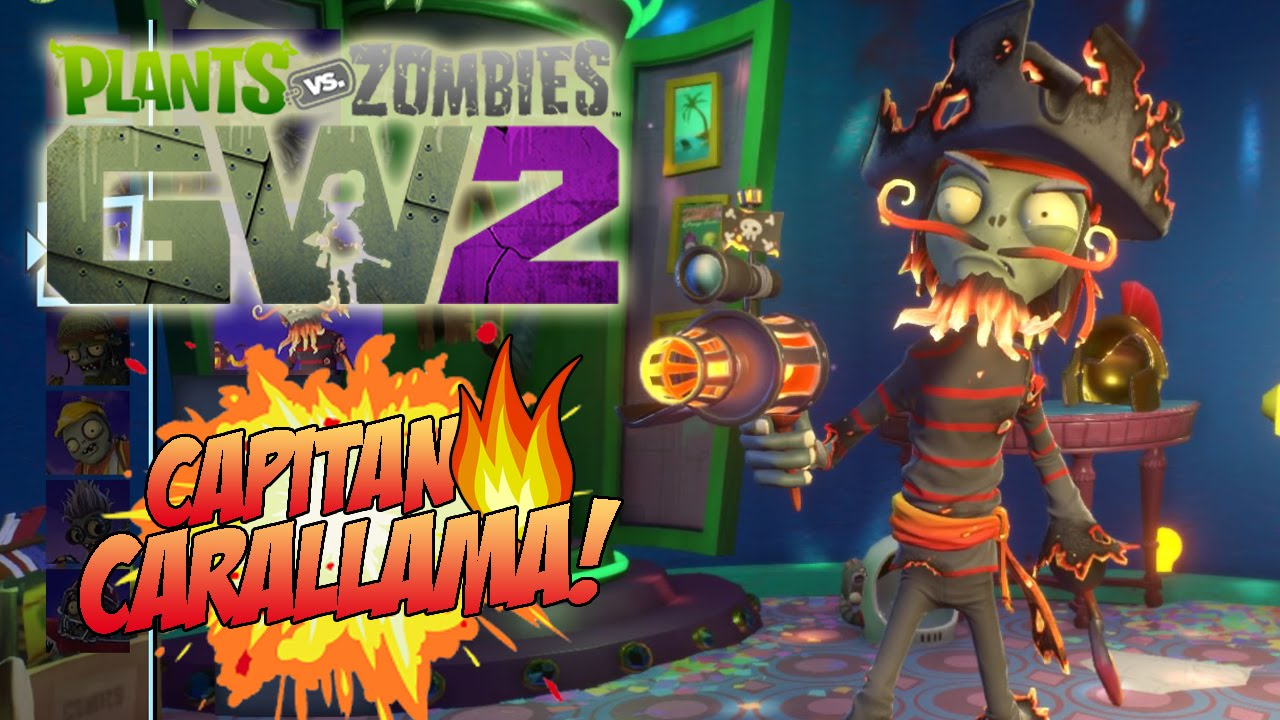 Capit N Carallama Gameplay Multiplayer Parte 03 Plants Vs Zombies Garden Warfare 2 Youtube