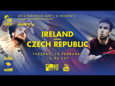 Badminton - Group Stage: Ireland vs Czech Republic - European Men's Team Championships 2016