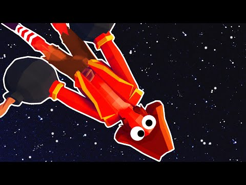 When You Set The WORLD RECORD Distance To Space in TABS - Totally Accurate Battle Simulator - 동영상
