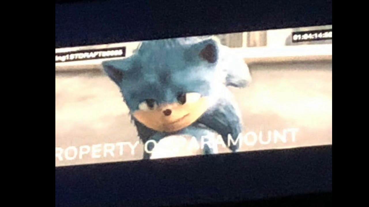 I D Like To See More Real Or Fake Sonic Movie Old Design Leaks Youtube