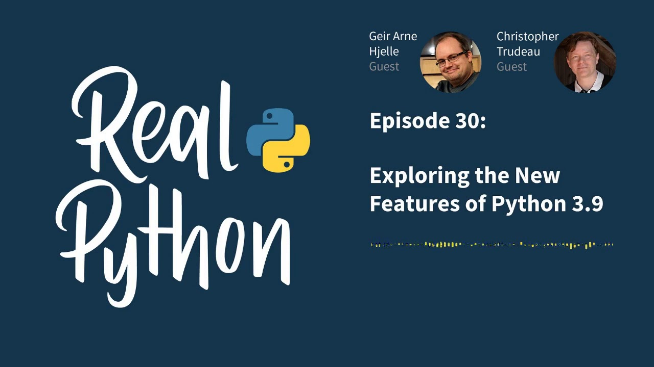 Exploring the New Features of Python 3.9