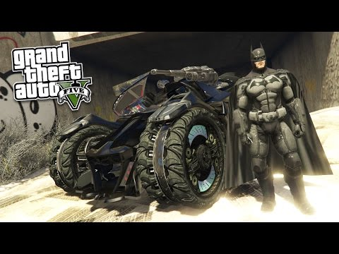 GTA 5 PC Mods - ULTRA REALISTIC BATMAN MOD! GTA 5 Batman Mod Gameplay! (GTA 5 Mod Gameplay)