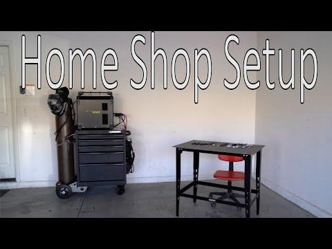 Basic Home Garage Shop Setup for Fabrication