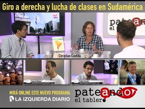 Giro a derecha y lucha de clases en Sudamérica   Pateando el Tablero   La izquierda Diario