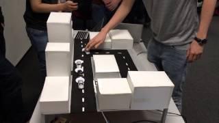 Traffic Distribution MQTT Arduino Prototype for IBM using Node-Red