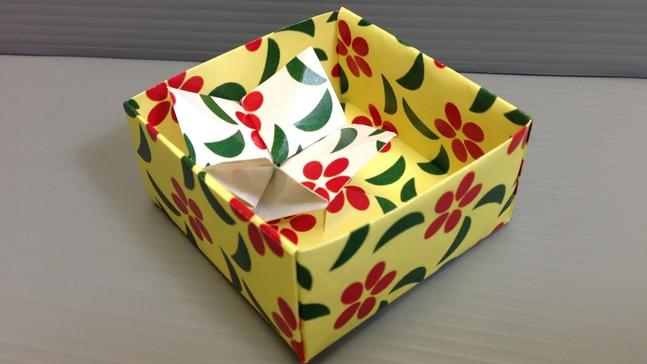Simple Flowers Patterns Origami Paper - YouTube - photo#28