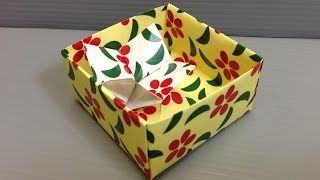 Simple Flowers Patterns Origami Paper