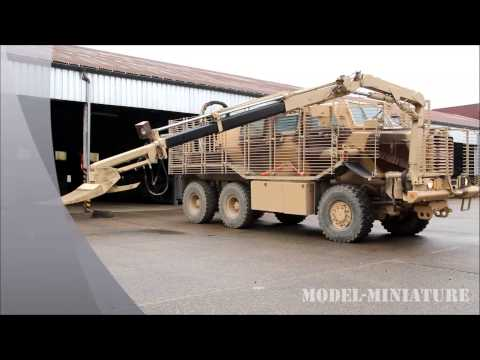 Buffalo MP/CV (Mine Protecterd /Clearance Vehicle) - Model-Miniature