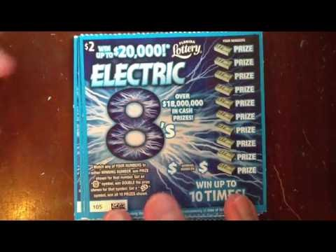 $2 Electric 8's - FL Lottery - gerry12250