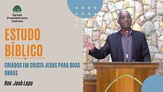 Estudo Bíblico (27/08/2020) - Igreja Presbiteriana Itatiaia