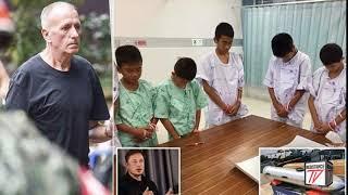Elon Musk insulta al Buzo Inglés que le quitó el trabajo en Tailandia