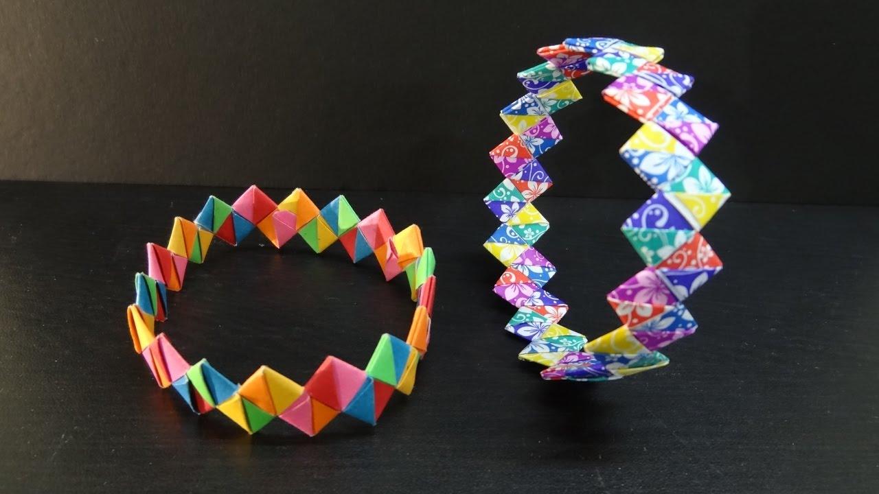 diagram origami bracelet advanced paper crafts how to make a diy wristband friendship band