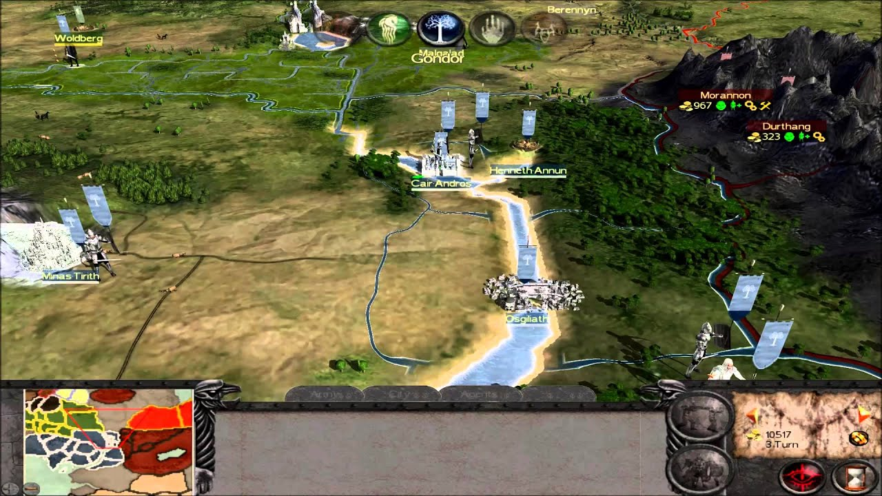 The Lord Of The Rings Total War Mod