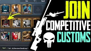 NOW ANYONE CAN PLAY COMPETITIVE CUSTOM SCRIMS FREE JOIN ESPORTS NOW PUBG MOBILE