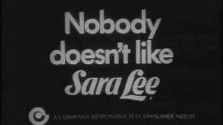 Sara Lee Commercials - Three of