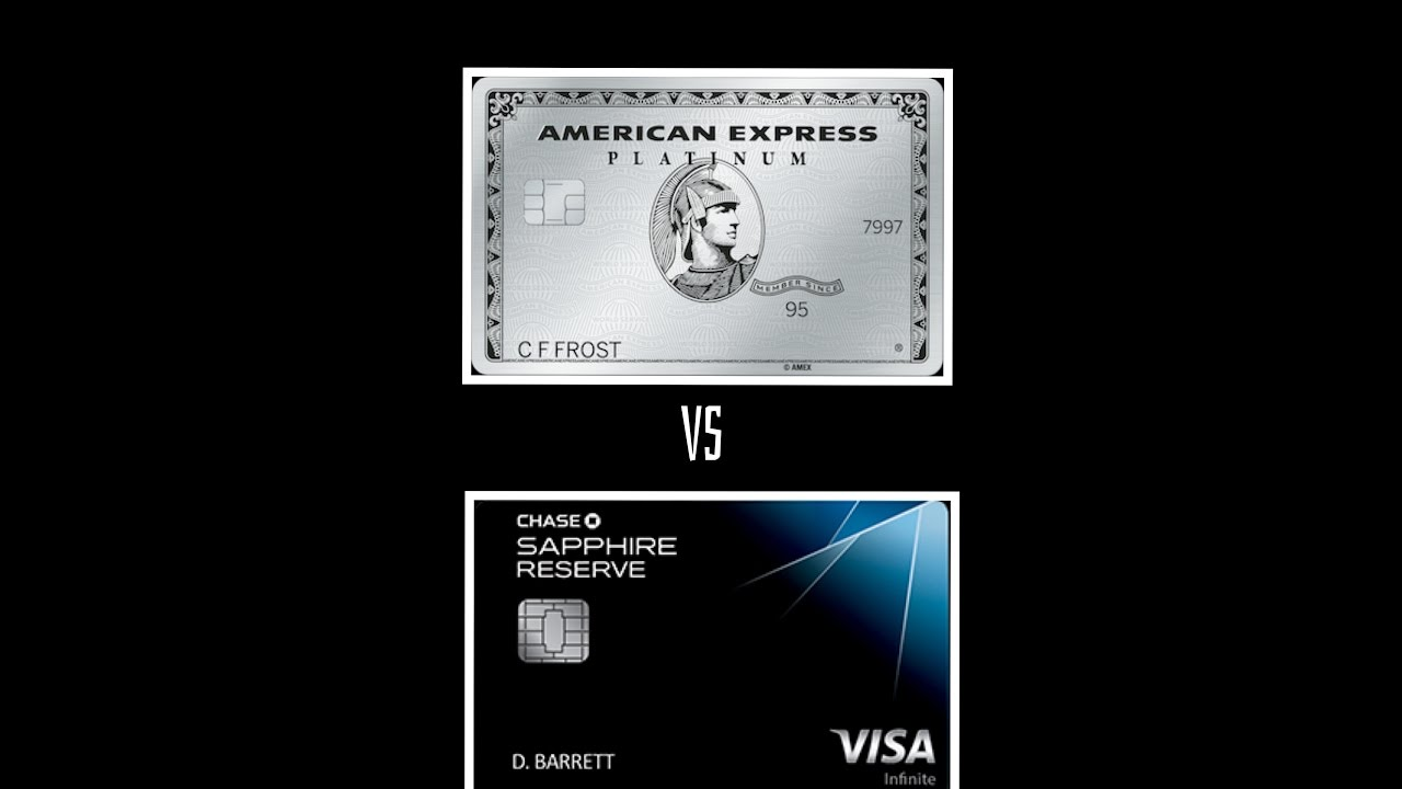 Chase Sapphire Reserve Csr Vs American Express Platinum