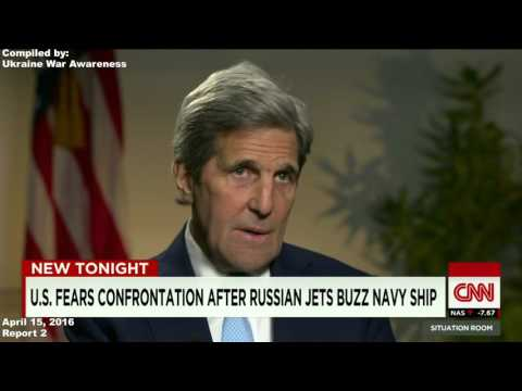 CNN Contradicting itself of Russian Flyby of US Warship USS Donald Cook. Misinformation!