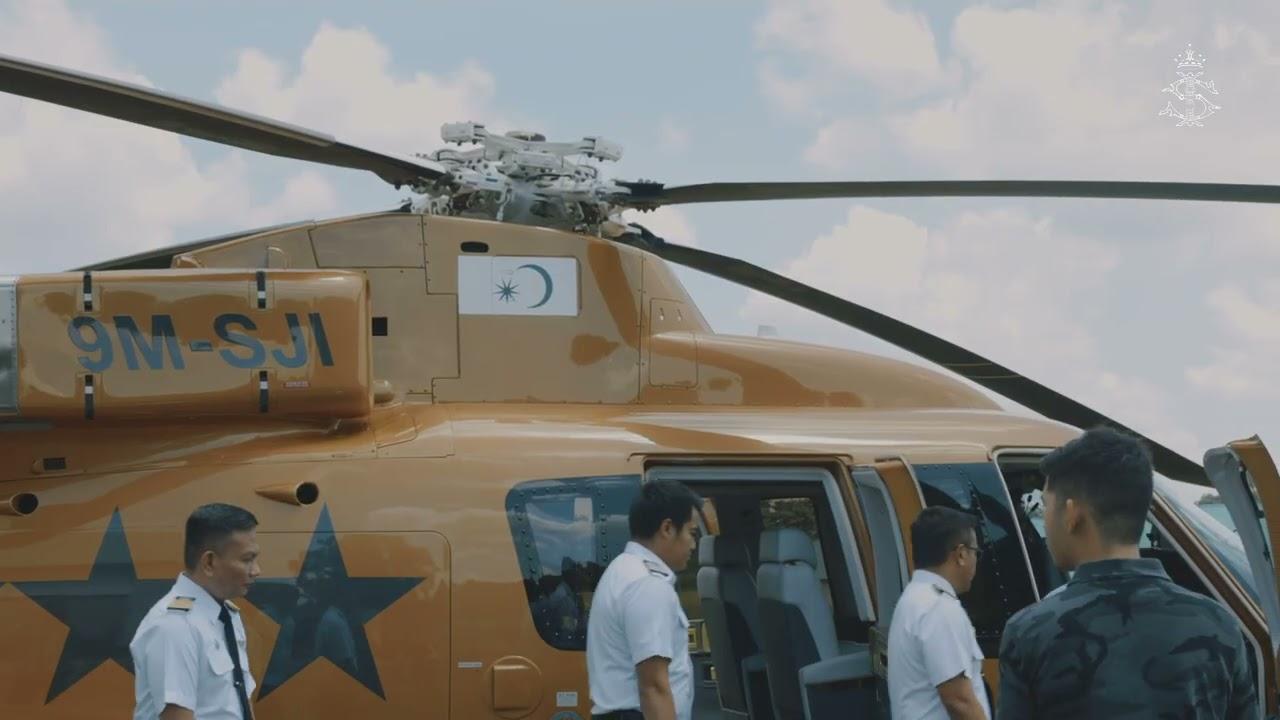 Tuanku Sultan Johor's Royal Chopper