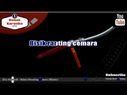 Karaoke Elvy Sukaesih - Bulan Diranting Cemara (REmix)