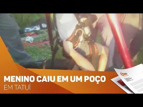 Resgate de um menino em um poço em Tatuí - TV SOROCABA/SBT