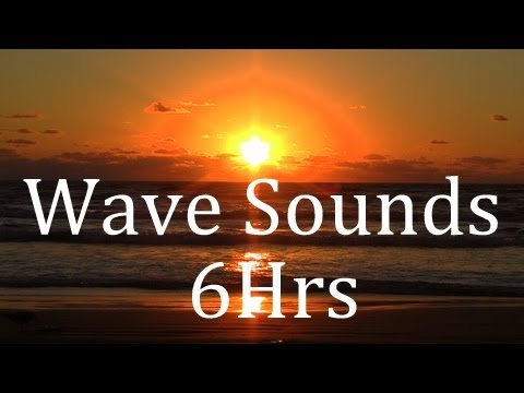 """Wave Sounds"" 6Hrs ""Sleep Sounds"" Get to Sleep Fast!"