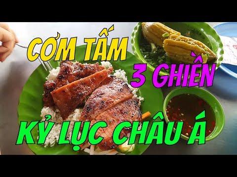 """Bất ngờ VỚI SỰ BÌNH DÂN """"cơm tấm 3 Ghiền"""" Kỷ lục châu Á      Guide Saigon Food"""